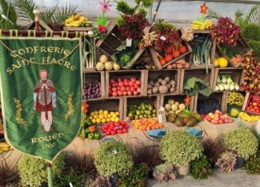 Saint Fiacre, Patron des Jardiniers